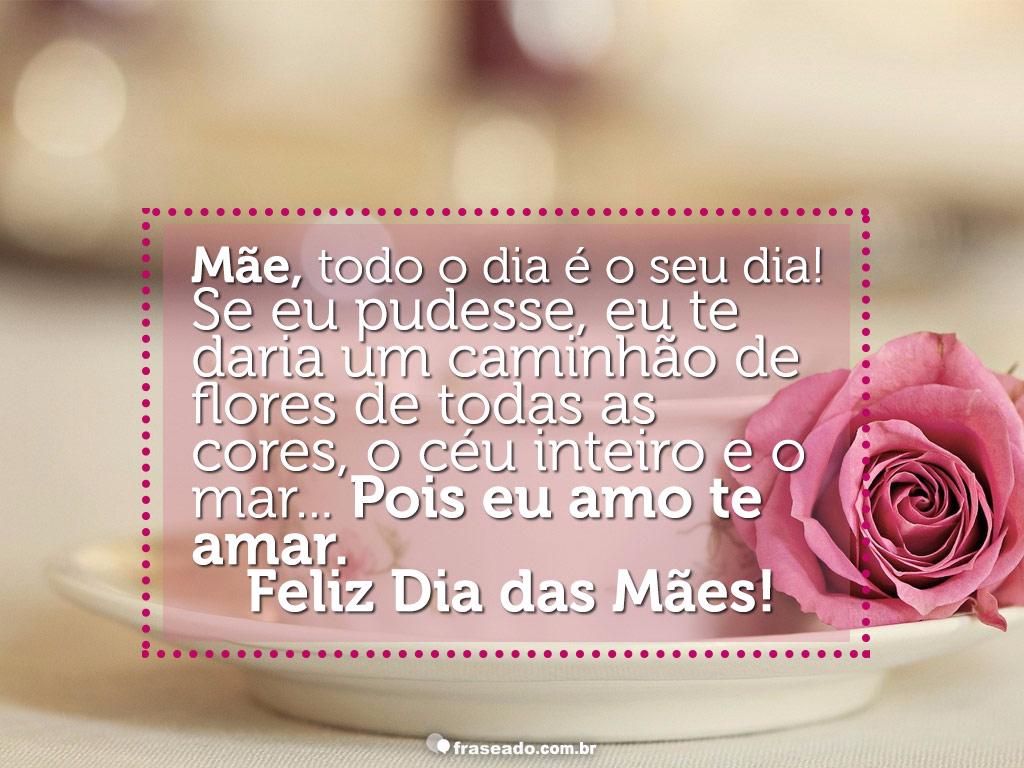 Feliz Dia Das Maes Piattino Blog